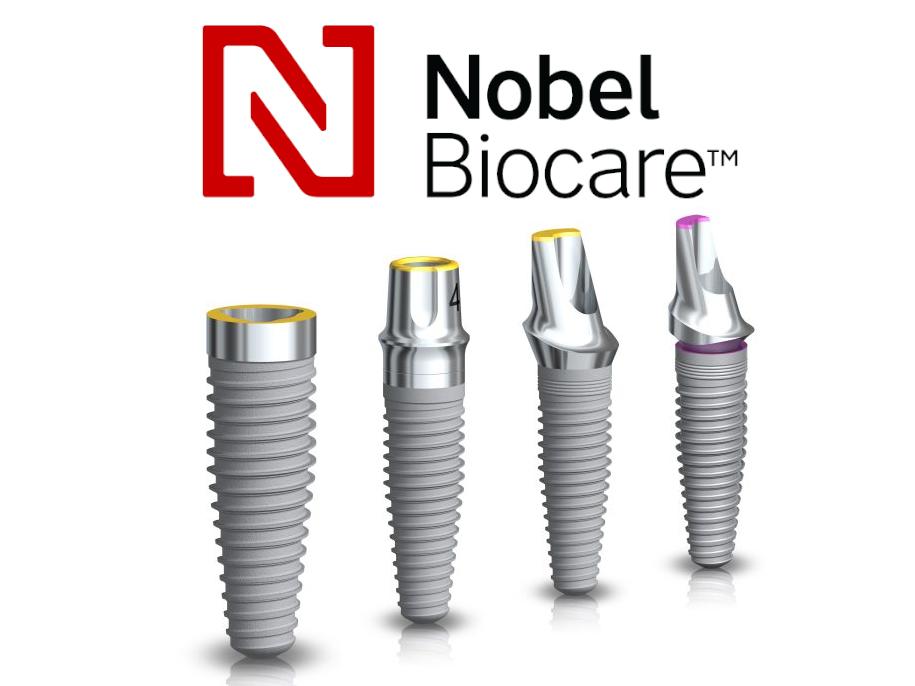 Dentalni centar DentIN: fotografija premium zubnih implantata Nobel Biocare